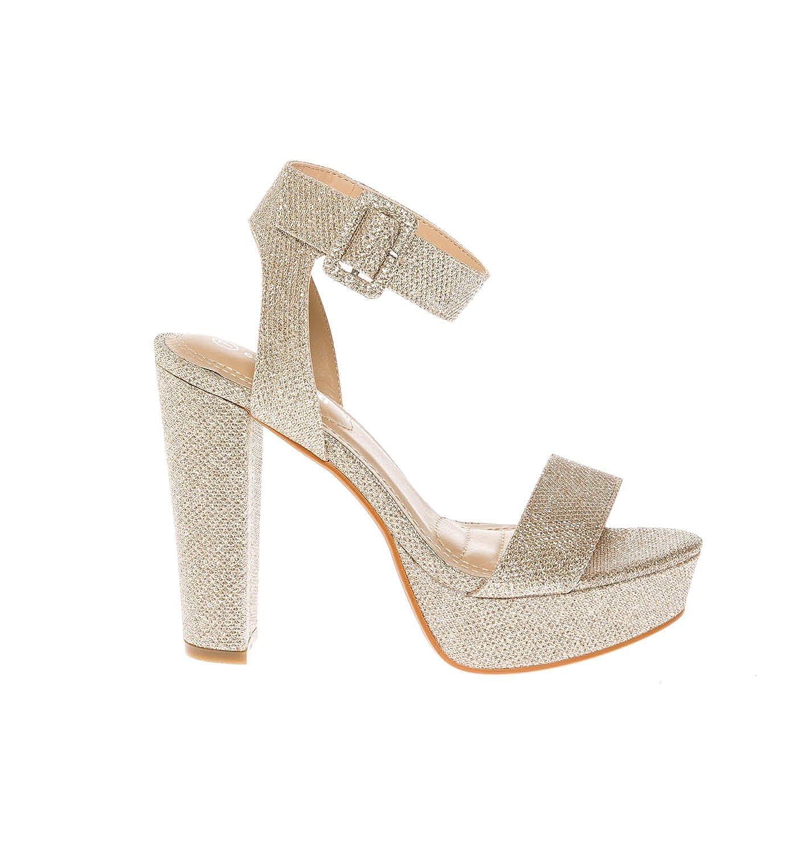 Amazon.com | CALICO KIKI Women\'s Shoes Buckle Ankle Strap Open Toe ...