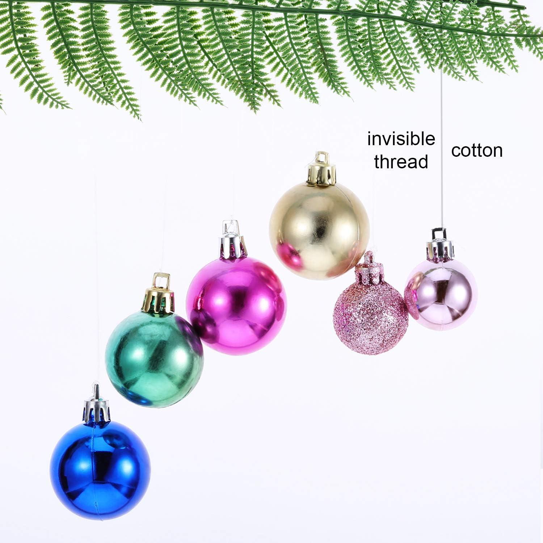 Fabrication de Bracelet Coudre Passe-Temps TOKERD 500m Fil en Nylon Transparent 0.3mm Fil de Perles Invisible Cordon en Nylon Transparent avec Aigille pour D/écoration de No/ël