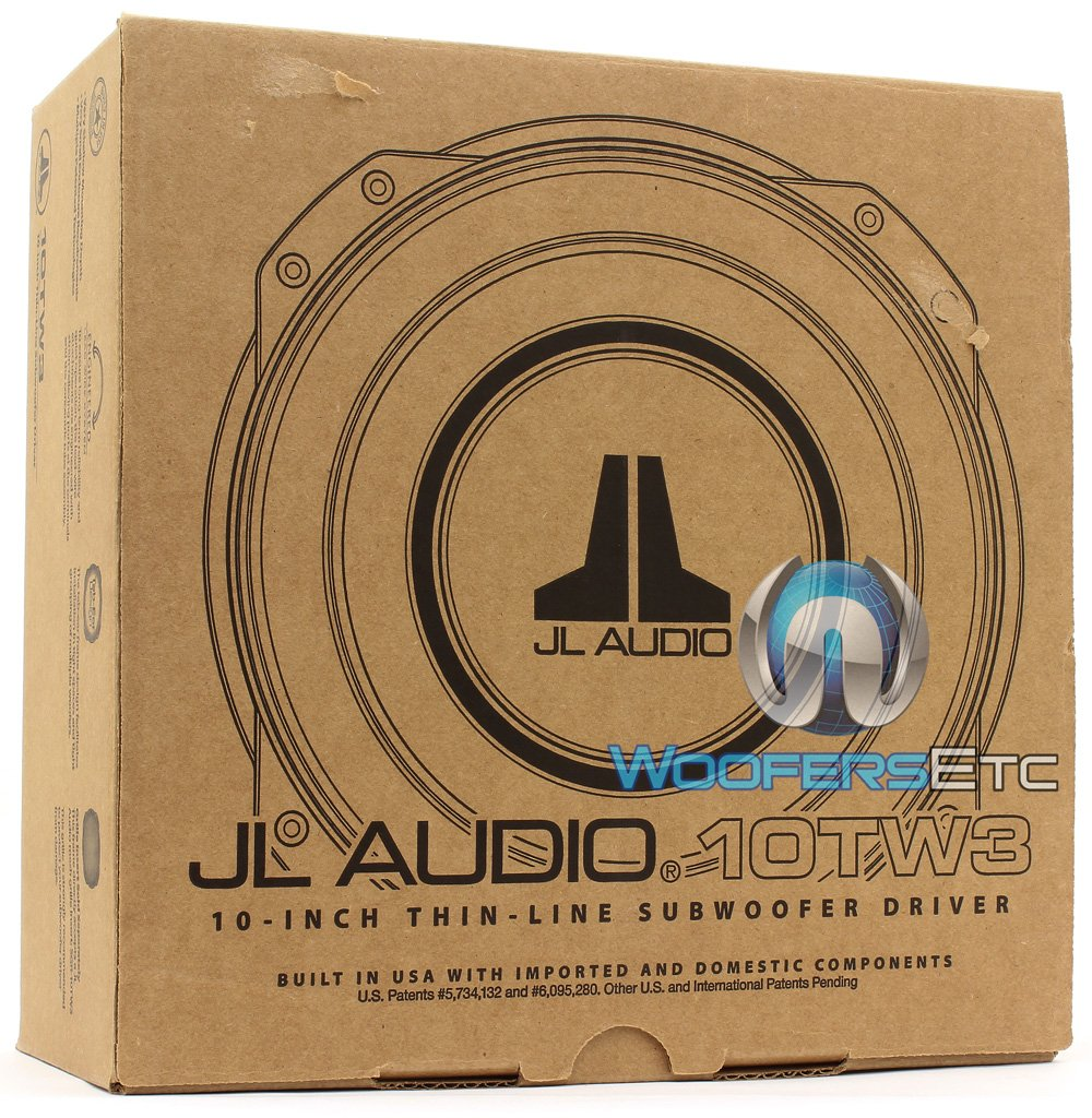 Jl Audio 10tw3 D4 10 Shallow Subwoofer Electronics Wiring Diagram 12w7