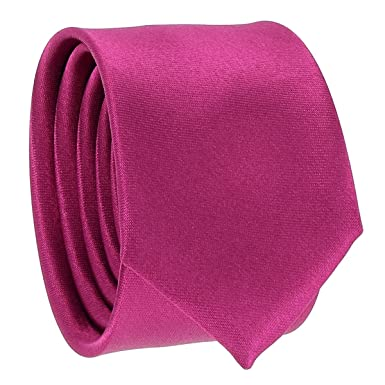 cravateSlim Corbata Estrecha Fucsia: Amazon.es: Ropa y accesorios