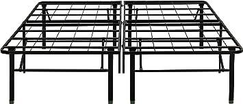flex form raised platform bed frame base metal mattress foundation 14u0026quot height