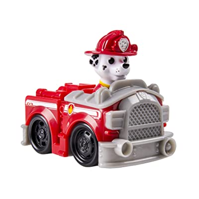Nickelodeon, Paw Patrol Racers, Marshall's Fire Truck Vehicle: Toys & Games