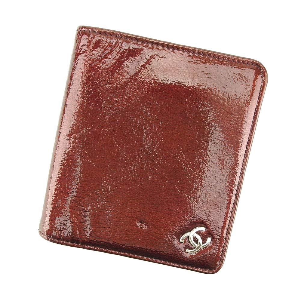 (CHANEL) シャネル 二つ折り 札入れ 二つ折り 財布 レディース ココマーク 中古 ヴィンテージ T9058   B07MT9S94Y