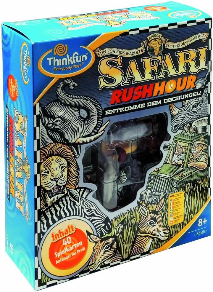HCM 54100 Safari Rush Hour - Juego de ingenio [Importado de Alemania]: Amazon.es: Juguetes y juegos