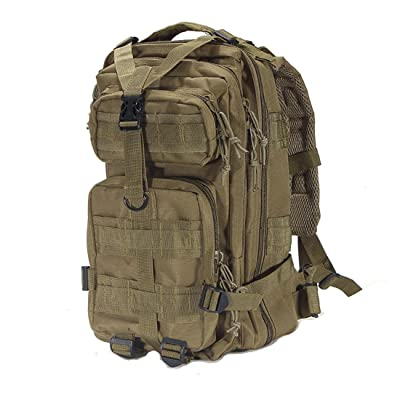 SAC A DOS TACTIQUE SNIPER IMPERMEABLE MILITAIRE SECURITE Camping Outdoor ETANCHE tan