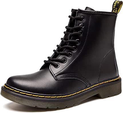 Ladies Leather Lace Up Ankle Boots