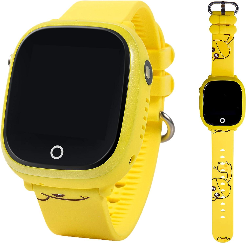ON WATCH Smartwatch para niños con localizador GPS, Llamadas y cámara de Fotos. Reloj Inteligente acuático con IP67 para niños de 3 a 13 años…