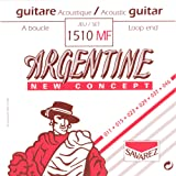 Savarez 1510MF Argentine Acoustic Jazz Guitar Strings, High Tension Loop End