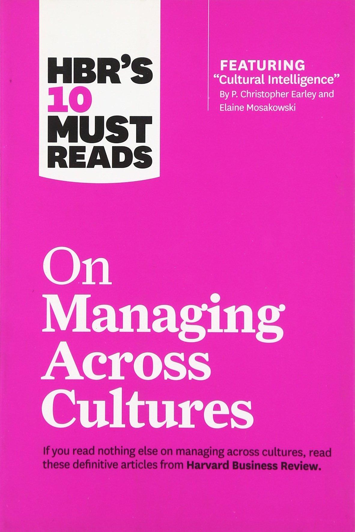 Managing Cultures Intelligence Christopher Mosakowski product image