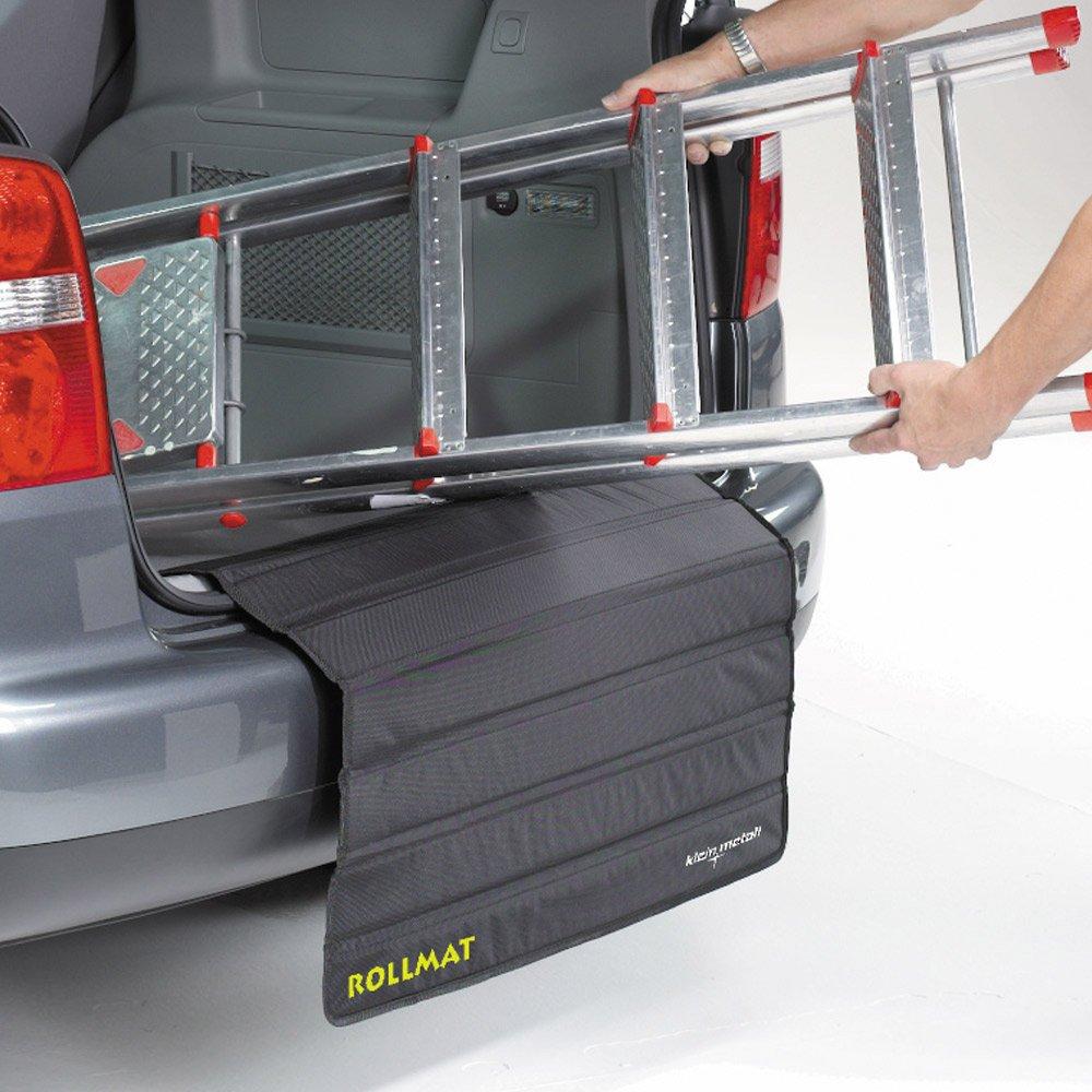 Rollmat Protection pare-chocs compatible avec tous les voitures avec socle de chargement le coffre de protection avec plaques renforcé es en plus la protection ladekant est immé diatement universelle Schecker