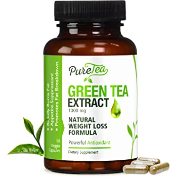 Amazon Com Green Tea Extract 98 With Egcg For Weight