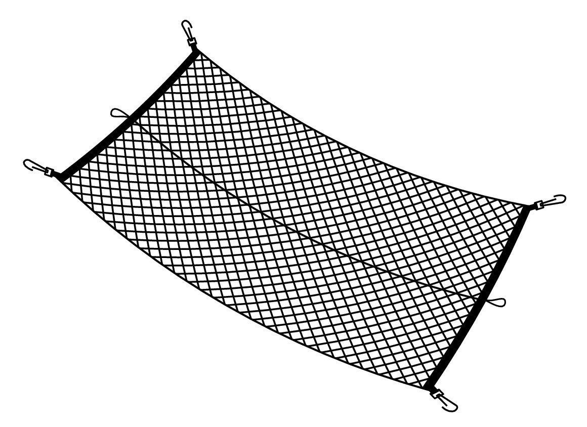 Lampa 60265/Red de Almacenamiento el/ástica para Maletero