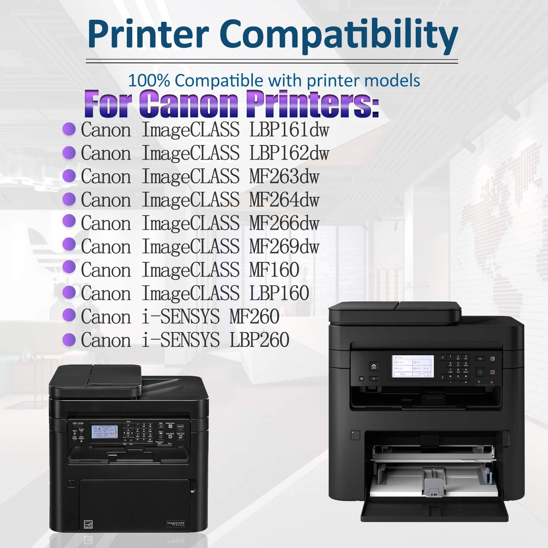 4-Pack Black 051 Compatible Toner Cartridge Replacement for Canon ImageCLASS LBP161dw MF160 LBP160 Canon i-SENSYS MF260 LBP260 Series Printer,Sold by SinaToner.