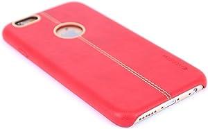 iPhone 6 Plus/iPhone 6s Plus Case, Vorson Slim Fit Faux Leather Case for iPhone 6 Plus/iPhone 6s Plus (Red)