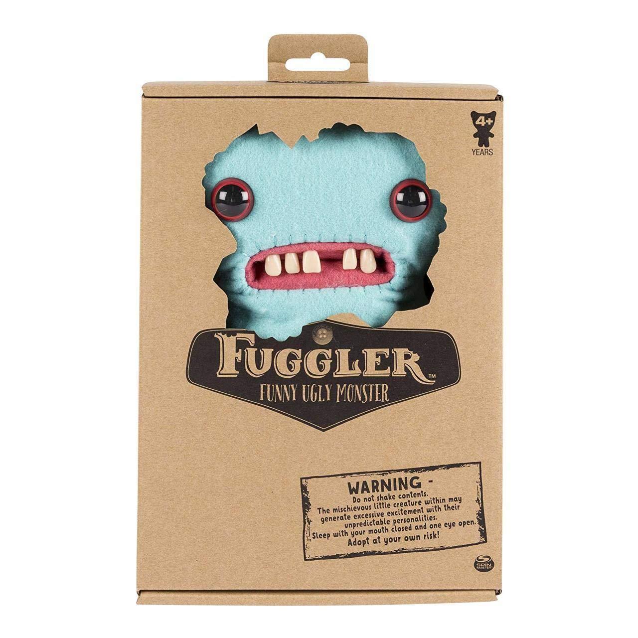 Spin Master Fuggler Funny Ugly Monster Deluxe Stuffed Little Nighmares Region 3 Animal Medium 9 Plush Sasquoosh Toys Games
