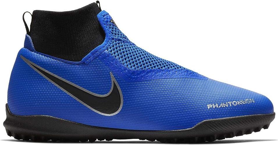Nike Jr Phantom Vsn Academy DF TF, Chaussures de Football
