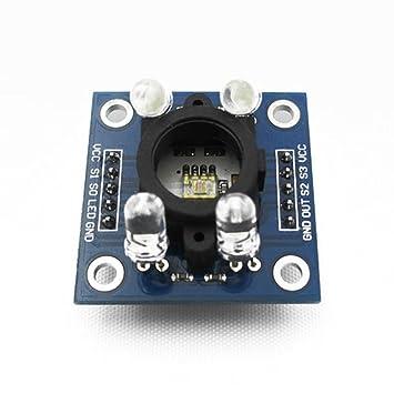 ARCELI TCS230 TCS3200 Detector Módulo GY-31 Sensor de reconocimiento de Color para Arduino: Amazon.es: Electrónica