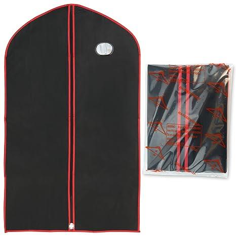 Hangerworld 3 Fundas de Ropa 110cm Porta Traje Impermeable ...