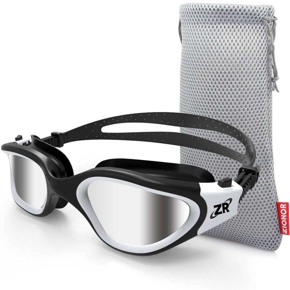 Zionor Swimming Goggles G1 Polarized Swim Goggles With