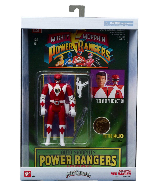 Power Rangers Auto Mighty Morphin Zack Action Figure