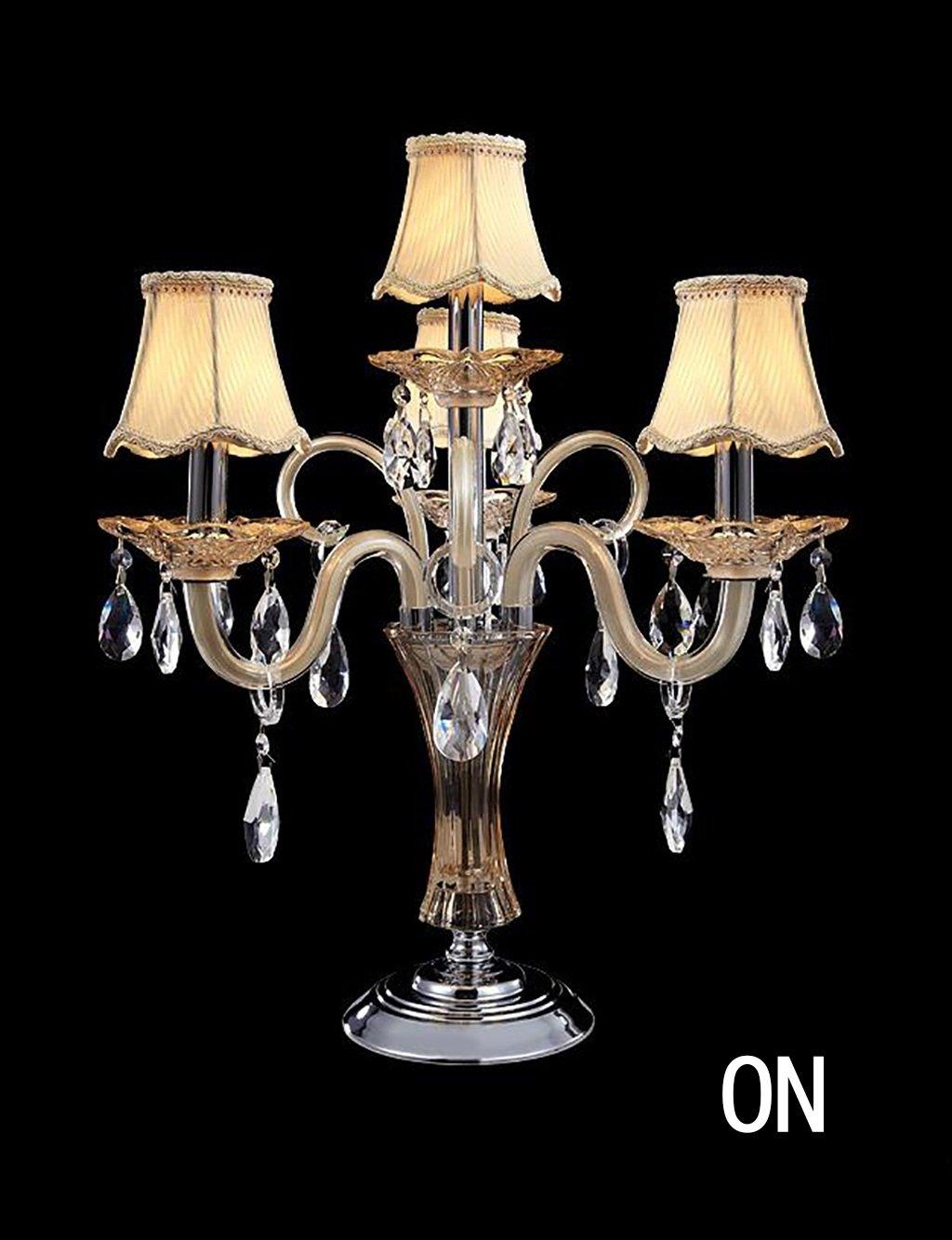 Europäische - Stil Luxusmode-Schlafzimmer Nacht Study Room-Kristallglas-Tischleuchten