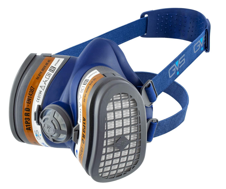 Elipse SPR503 Disolventes y Pintura A1P3 Mitad Máscara Mascarilla con Filtros, Talla M/L