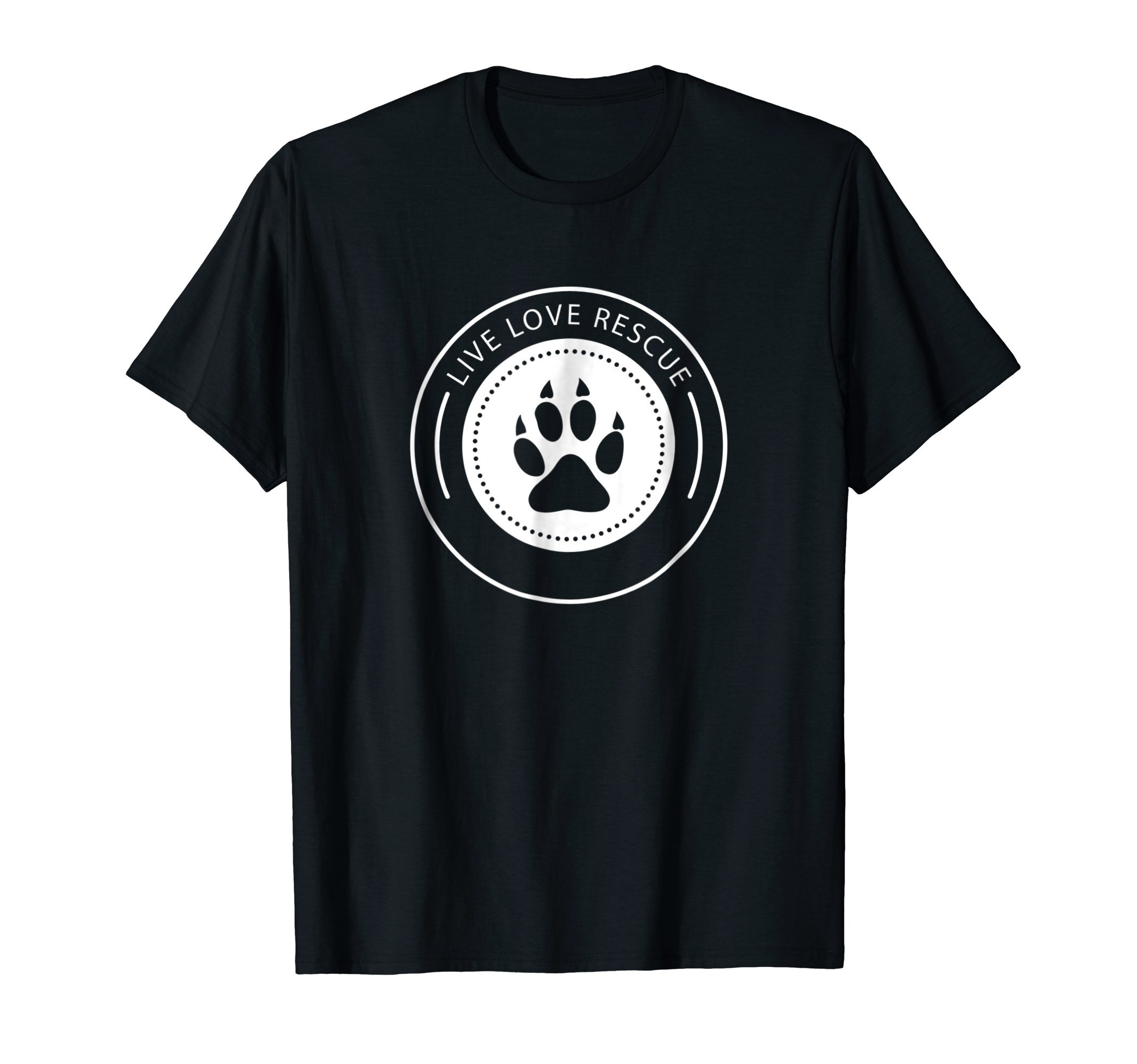 Rescue Animals Shirt Cat and Dog Shirt | Adopt a Pet T-Shirt by Animal Rescue Shirts 123 (Image #1)