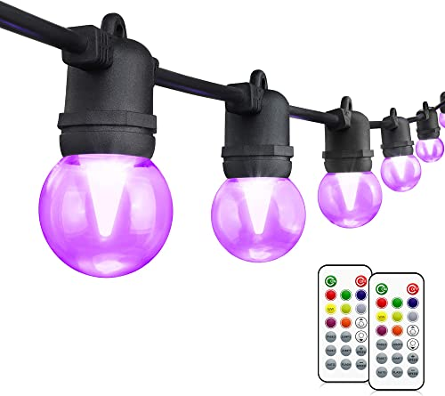 48FT Color Changing Outdoor String Light
