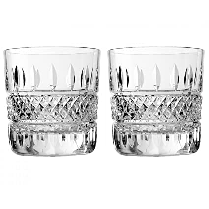 Amazon Waterford Irish Lace Dof Pair Tumblers