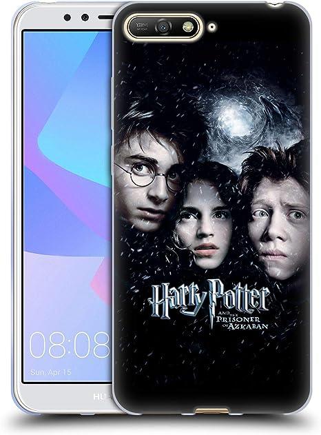 Head Case Designs sous Licence Officielle Harry Potter Ron, Harry & Hermione Poster 3 Prisoner of Azkaban IV Coque en Gel Doux Compatible avec Huawei ...
