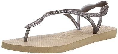 027130c89039bf Havaianas Luna Women s Sandals  Amazon.co.uk  Shoes   Bags