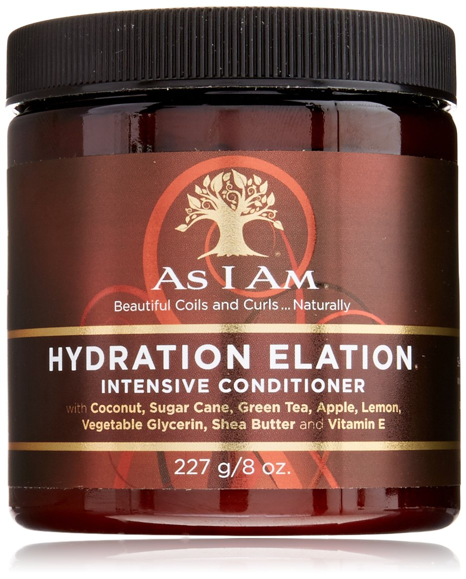 As I Am Hydration Elation Intensive Conditioner, 8 Ounce 002059