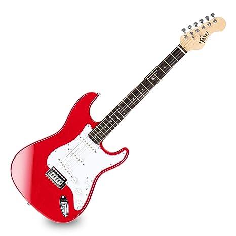 Guitarra Eléctrica Shaman Element Series STX-100B roja