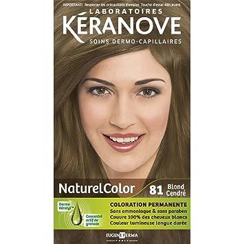 laboratoires kranove coloration permanente naturelcolor 81 blond cendre - Coloration Blond Cendre