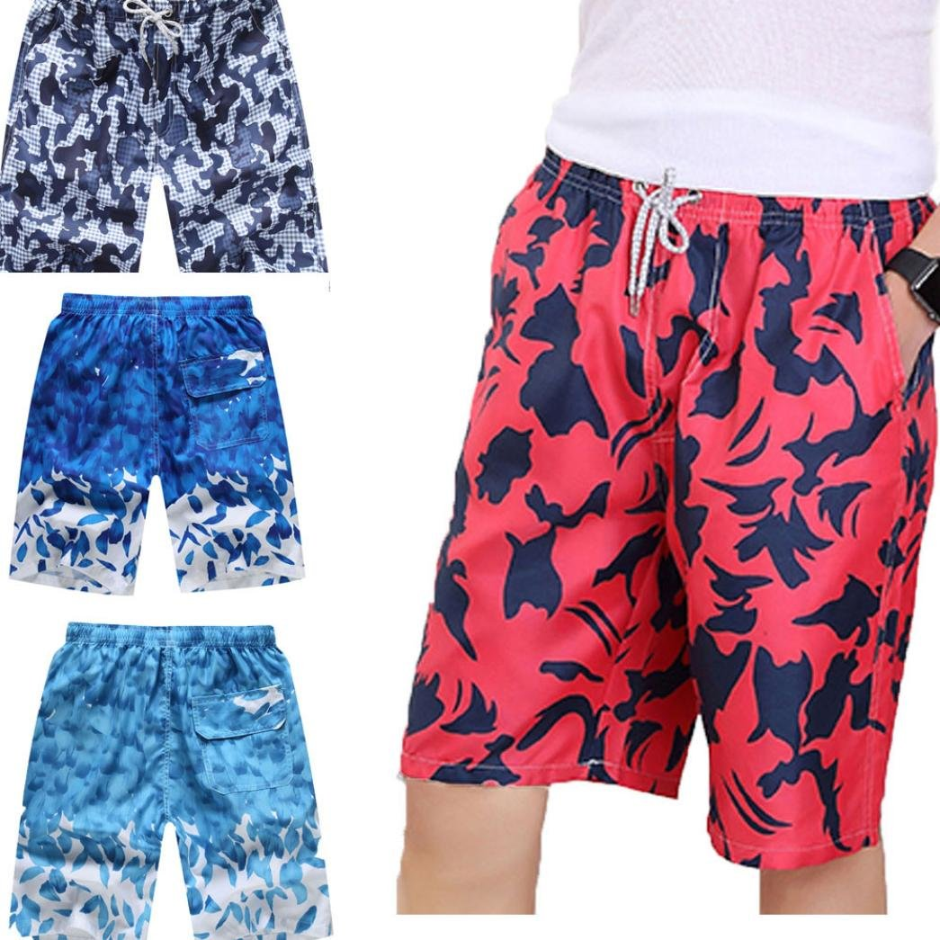 11c6072266 Inverlee Men Trouser Mens Shorts Swim Trunks Quick Dry Beach Surfing  Running Swimming Water Pants | Amazon.com