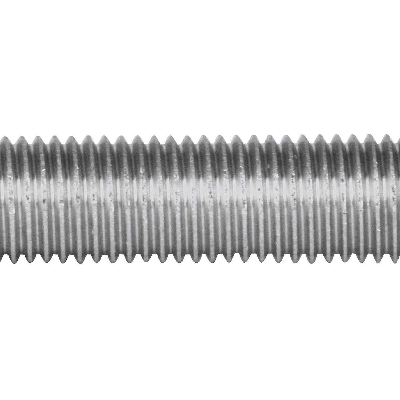 BiBa-Schrauben 1 Meter Gewindestange M8 1000 mm verzinkt 8.8 DIN 975 976 Gewindestift Gewindebolzen Stange