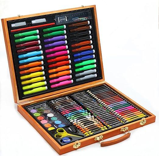 Wuxingqing Set de Lapices de Color Fuente de Arte para Pintar y Dibujar 150 Piezas de