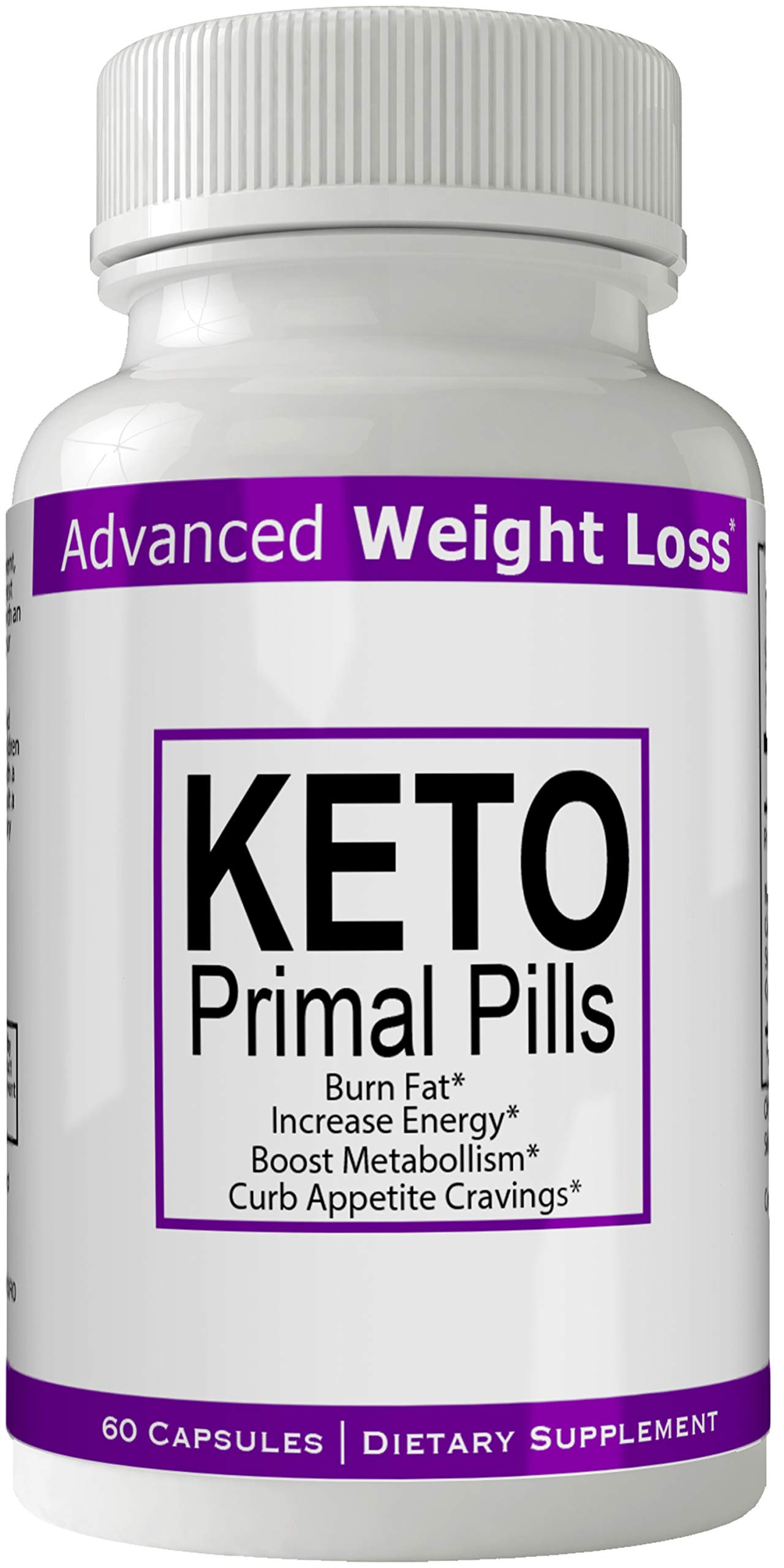 Keto Primal Pills Advanced Weight Loss Supplement - Keto Primal Pills Weight Loss Capsules - Advanced Weight Loss 800 mg Formula Pills - BHB Salts Tablets Original by nutra4health by nutra4health LLC
