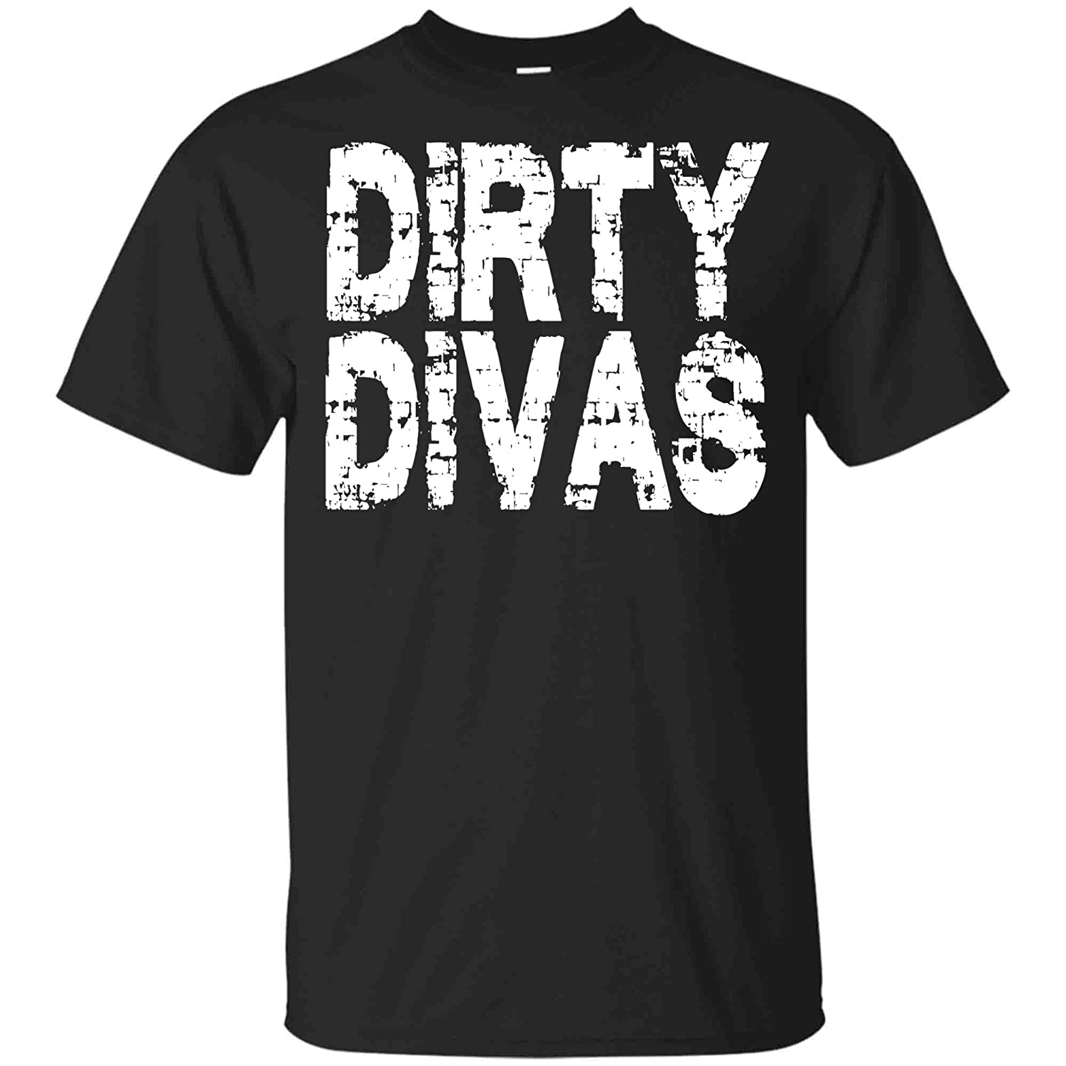 Unisex TShirt Black Medium KiraHome Womens Mud Run Team Shirt Marathon Runner Mudding Gift Dirty Divas Tank Top