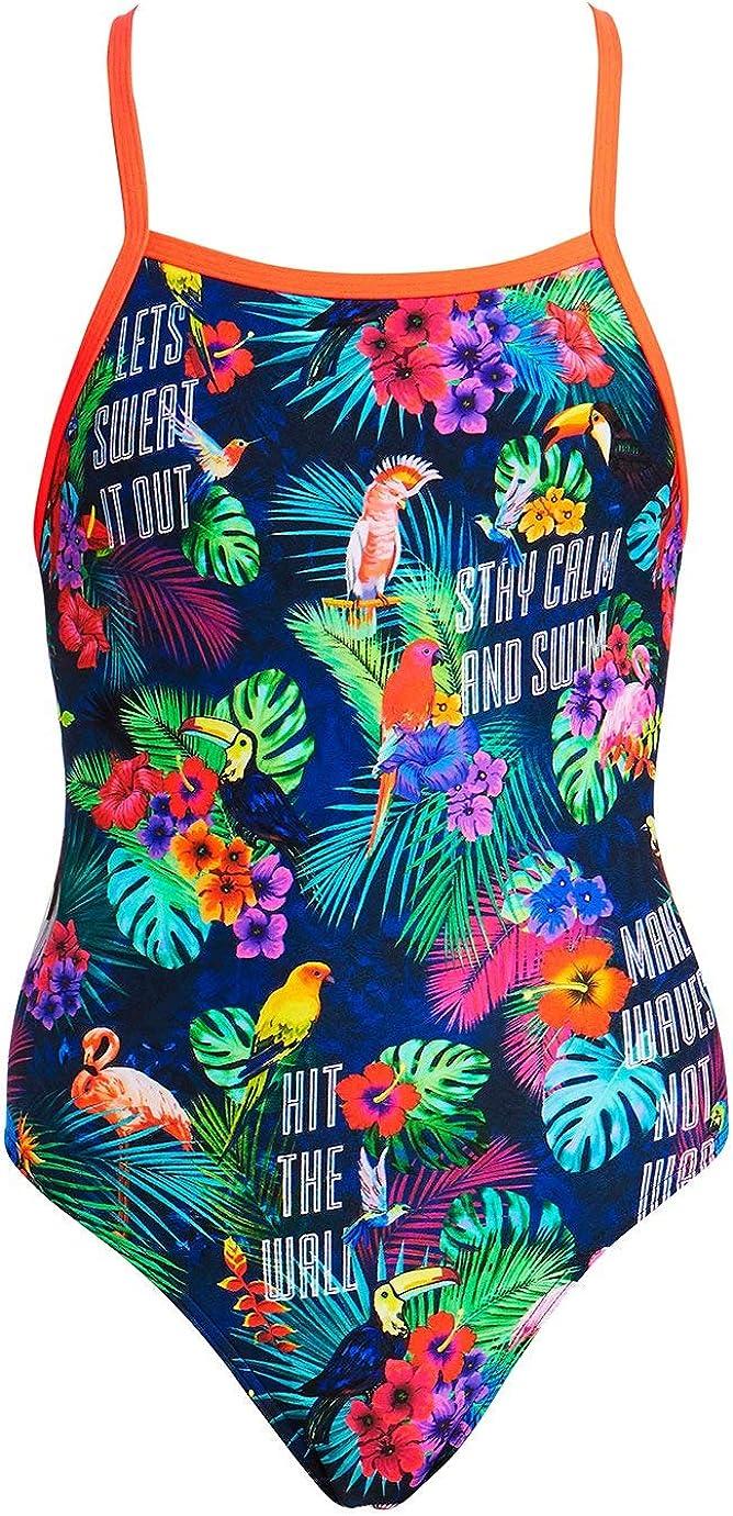 Funkita Tropic Tag One Piece Girls Swimwear