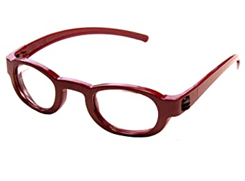 66e00448b00a Image Unavailable. Image not available for. Color  Focus Specs Self  Adjusting Red Reading Glasses ...