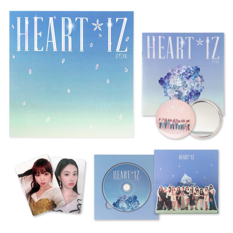 IZONE 2nd Mini Album - HEART*IZ [ Sapphire ver  ] CD + Mini