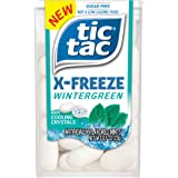 Tic Tac X-FREEZE Sugar Free Breath Mints, Wintergreen, 0.7 oz (Pack of 12), Perfect Easter Basket Stuffers for Boys and Girls