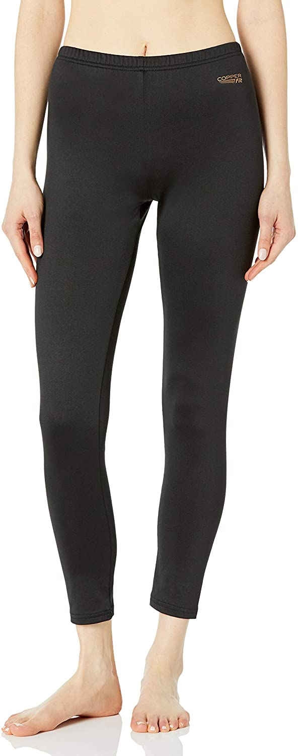 Copper Fit Women's Copper Infused Thermal Pant Base Layer at  Women's Clothing store
