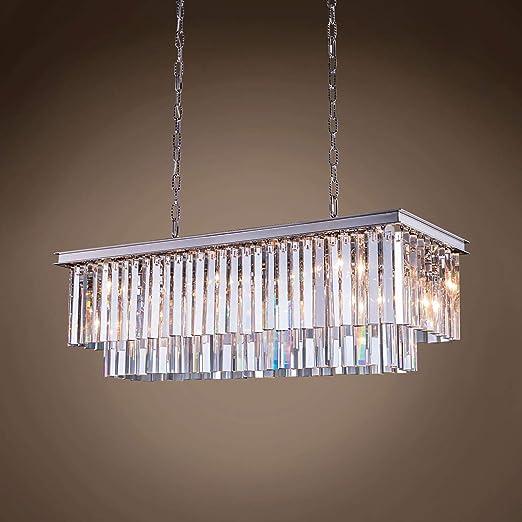 Amazon.com: 12 luces de 40 pulgadas de cristal transparente ...
