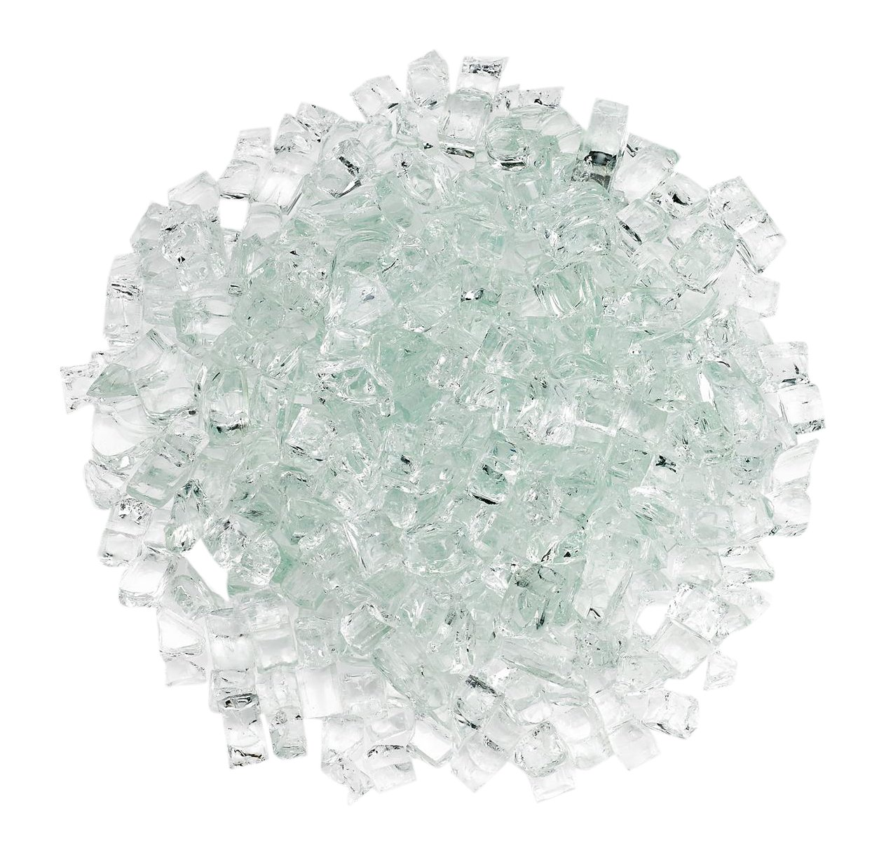 American Fireglass Fire Glass with Fireplace Glass and Fire Pit Glass, 5-Pound