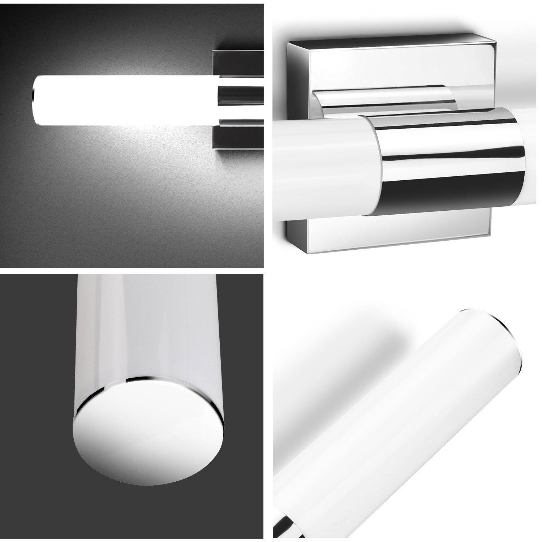 LED Bathroom Lights Over Mirror,JoosenHouse Modern Stainless Steel Sconce Wall Lights Fixtures 1120lm Daylight Bath Makeup Vanity Lighting 16W 31.5inch by Joosenhouse (Image #5)
