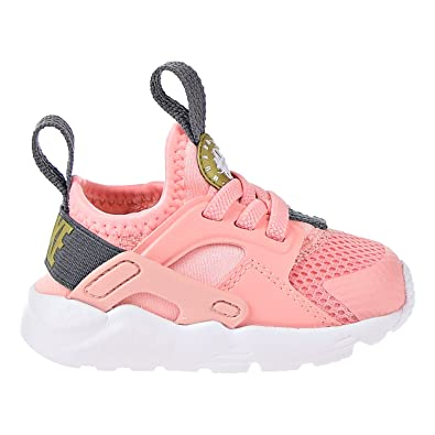 e3e9e4e93e1c Image Unavailable. Image not available for. Color  NIKE Huarache Run Ultra  Little Kids  Shoes Bleached Coral Metallic ...