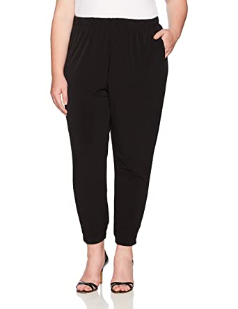 43c725e3e0f5f6 RACHEL Rachel Roy Women s Plus Size Pull On Jogger Pant at Amazon Women s  Clothing store