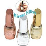 Santee MIRROR EFFECT Nail Polish full size 3pcs Set